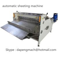 China automatic roll to sheet cutting machine for PET, PC, PVC, PCB, FPC supplier