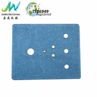 China Custom Drilled Aluminum Instrument Enclosure Stone Vibration Grinding Surface for sale