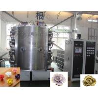 China Stainless Steel 304 / 316 Ceramic Coating Equipment For Ceramic TiN Gold Flower for sale