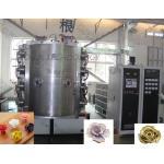Stainless Steel 304 / 316 Ceramic Coating Equipment For Ceramic TiN Gold Flower for sale