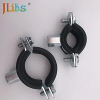 Zinc Plating Steel Cast Iron Pipe Clamps Set Types Square DC01 for sale
