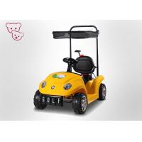 Remote Control Toy Vehicle Baby Electric Car Kids Ride On Car With Canopy for sale