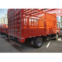 China 7T - 10 T Double Axles HOWO Light Duty Trucks For Livestock Transport supplier