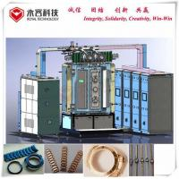 Gold Color Pvd Gold Plating Machine Strong Adhesion Film For Watch Chain for sale