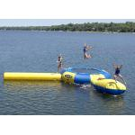 Rave 15' Aqua Jump Eclipse 150 Water Park, Northwoods Edition , Inflatable Water Games for sale