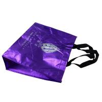 Shining Non Woven Carry Bags Reusable With Screen Printing Logo tape Handle for sale