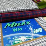 100% Polyester Yarn Dyed  Check Fabric For Uniform 300Dx300D Width 57/58 for sale