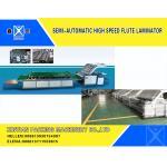 Servo Semi - Automatic Flute Laminator Machine Corrugated Cardboard Carton Making Machine for sale