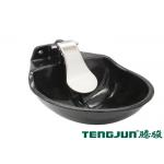 China 4 Hole Brass Valve SS304 Blade Cattle Drinking Trough for sale