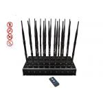 3G 4G Mobile Network Jammer Device Adjustable With Remote Control for sale
