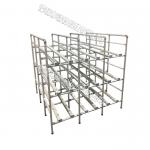 Durable Pipe Workbench Adjustable Composed Of Aluminum Alloy Pipe Connectors for sale