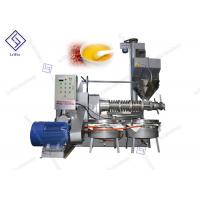 China Automatic Home Black Seed Screw Oil Press Machine 2650 * 1900 * 2700mm supplier
