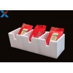 Plastic Acrylic Display Case Hotel Tea Desktop Storage Box Tea Bag Display Box for sale