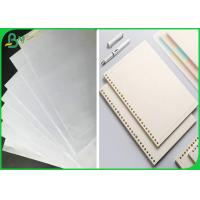 FSC Approved Uncoated 53G 70G 80G 100G White Woodfree Bond Paper In sheet for sale