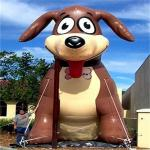 Lovely Inflatable Dog Inflatable Animal Model For Outdoor  2 Years Warranty for sale