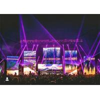 RGB Portable Stage Background Led Display Big Screen 6000 Nits With Video Processor for sale