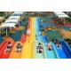 Classic Adult Rainbow Race Water Park Slide / Water Sports Equipment for sale