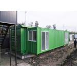40ft Prefab Double Expansion Container House Thermal Insulation for sale