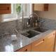 China G640 Bianco Sardo Granite Stone Kitchen Worktops Customized Size for sale