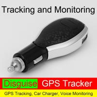 China Real Time Car Charger GPS Tracker With 850/900/1800/1900MHz GSM Frequency for sale