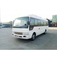 Drum Brakes Dry Type Clutch Inter City Buses Coach 30 Passengers Small Bus for sale