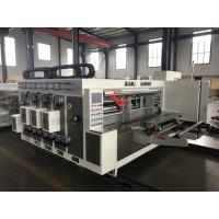 Automatic Doctor Blade Cermic Anilox Printing Flexo Machine 150-220 Pieces / Min Speed for sale