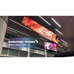 Indoor Flexible P2.5 mm LED Display Video Wall Customized Size Free Style Creative Display for sale