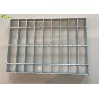 Stair Walkway Treads I bar Serrated Grid Mesh Floor Galvanized Metal Grating for sale