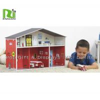 Custom Corrugated Cardboard Toys cardboard paper dollhouse for children for sale