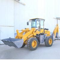 55KW Small Caterpillar Backhoe Loader Articulated Hydraulic Steering System for sale