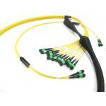 Fiber Optic MPO MTP Elite Trunk Cable SM 12 24 48 72 144 Core Patch Cord for sale