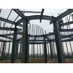 Steel Tower Poultry Farm Steel Structure / Goods Storage Farm Water Tower for sale