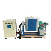 China IGBT induction melting furnace, casting machine for steel, copper,  Alu, silver, polycrystalline silicon for sale
