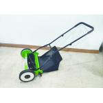 18 Inch / US Model Garden Lawn Mower With 4 Wheels Customized Color for sale