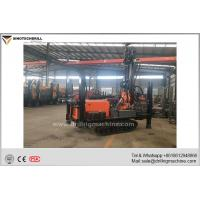 China Professional Crawler Chassis Water Well Drilling Rig 5000 - 6500N.M Rotation Torque for sale