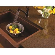 China Artificial Quartz Slab Countertops Coffee Brown Color Kitchen Island Stone for sale