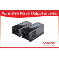 Sine wave Output Solar Power Inverters visual alarm with Circuit breaker for sale