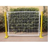 50*100 MM Mesh Plastic Coated Temporary Welded Wire Mesh Fence Panels