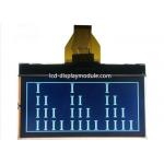 China STN FSTN FFSTN 128x64 Graphical LCD Monochrome Graphic With Yellow Green Backlight for sale