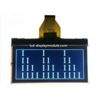STN FSTN FFSTN 128x64 Graphical LCD Monochrome Graphic With Yellow Green Backlight for sale