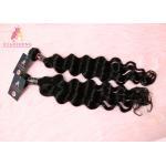Natural Black Virgin India Hair Loose Wave Bundle Cuticle Aligned Raw Hair