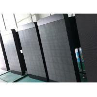 High Brightness P5 Pole LED Display / Advertising Outdoor Video Display for sale