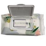 Digital Printing Custom Packaging Bags Side Gusset Wet Wipes Mid Seal Plastic Material for sale