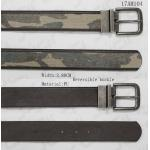 Two Sides Use Polyester Webbing Belt With Military Webbing Tape & Reversible Buckle for sale