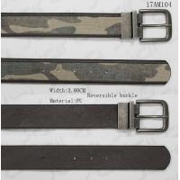 China Two Sides Use Polyester Webbing Belt With Military Webbing Tape & Reversible Buckle for sale