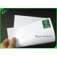 Different Thickness White Uncoated Woodfree Paper Roll With Good Package for sale