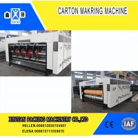 China Paper Industrial Printing  Die Cutting Machine With Multi Color Water Ink , Fully Automatically for sale