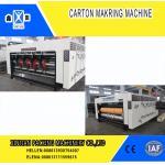 High Precision Carton Making Machine / Paper Die Cutting Machines , 2800mm Inboard Width for sale