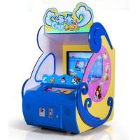 Ocean Adventure Coin Operated Ball Throwing Screen Redemption Pitching Game Machine for sale