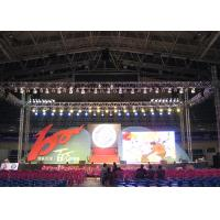 China 16 Bit Processing Outdoor Advertising LED Display With IP65 Aluminum Led Cabinet for sale